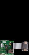 EDSA-ETH EDWARDS FIRE ALARM CONTROL ACCESSORY, ETHERNET PROGRAMMING/DIAGNOSTICS MODULE, FX-64/FX-254 SERIES