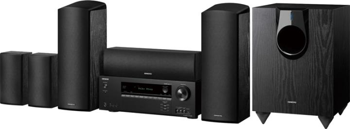HT-S5800 ONKYO HOME THEATER SYSTEM IN A BOX
