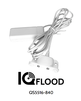 QS-5516-840 QOLSYS IQ Flood - Detects water. Includes 6' water dongle