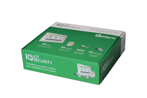 QS9004-840-01-00 QOLSYS KIT TO INCLUDE PANEL, 4 DOOR WINDOW SENSORS, PIR, AND A DOORBELL ADAPTOR KIT.