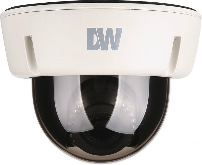 DWC-V6763WTIR DIGITAL WATCHDOG STAR LIGHT AHD SERIES VANDAL DOME, 2.1MP 1920X1080, 2.8-12MM VARIFOCAL LENS, DOUBLE SHUTTER WDR, TRUE D/N, 100FT IR, DUAL VOLTAGE IP66