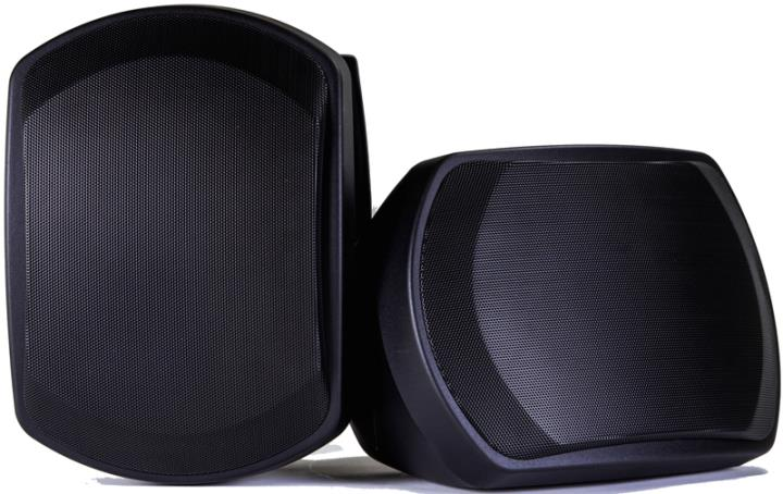 D-P301B ONKYO WIDE RANGE 2-WAY OUTDOOR SPEAKERS BLACK