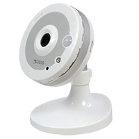 2GIG-CAM-100W 2GIG 2GIG Indoor Camera, 1.3MP, Wi-Fi, White (incl. 5VDC power supply)