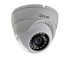 C133ED FLIR FLIR MPX Mini Eyeball Dome, 2.1MP, 1080P, 3.6mm, IR LED's, 12V