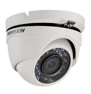 DS-2CE56D1T-IRM3.6MM HIKVISION Outdoor IR Turret HD1080p, 3.6mm, 20m IR, Day/Night, Smart IR, IP66, 12 VDC