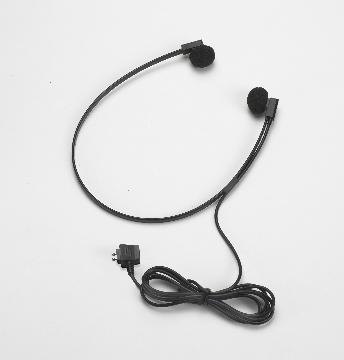 VEC-SPECTRADP VEC TWIN SPEAKER STEREO-LIKE HEADSET W/ BLACK STORAGE POUCH COMPATIBLE WITH ALL DICTAPHONE MODELS