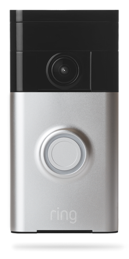 88RG400FC100 RING VIDEO DOORBELL SATIN NICKEL