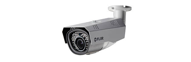 C237BC FLIR MPX Motorized VF Bullet, 1.3MP/960H Dual Output, WDR, OSD, 2.8-12mm, IR LED's, 12/24V