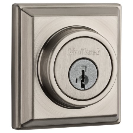 99100-064 KWIKSET Signature Series Z-Wave Contemporary Deadbolt Satin Nickel ************************* SPECIAL ORDER ITEM NO RETURNS OR SUBJECT TO RESTOCK FEE *************************
