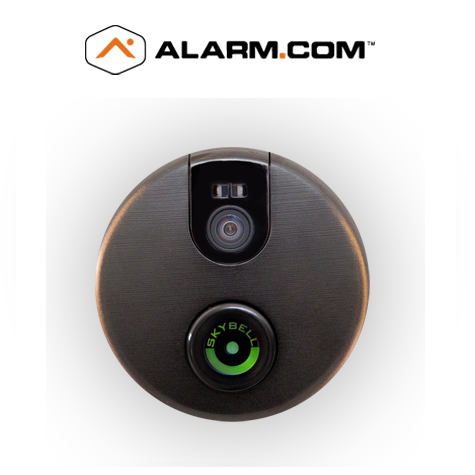 Adc Vdb102 Alarm Com Sky Bell Video Door Intercom Bronze