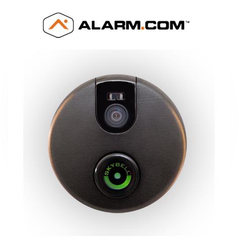 ADC-VDB102 ALARM.COM SKY BELL VIDEO DOOR INTERCOM BRONZE COLOR