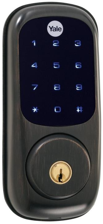 YRD220ZW0BP Yale 84016 Touchscreen Z-Wave-Deadbolt Oil Rubbed Bronze (Permanent) ************************** CLEARANCE ITEM- NO RETURNS *****ALL SALES FINAL******* **************************