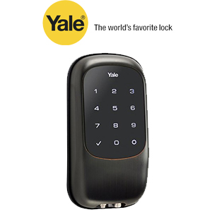 YRD120ZW0BP Yale 84391 Touchscreen Z-Wave- Key Free Deadbolt Oil Rubbed Bronze (Permanent)
