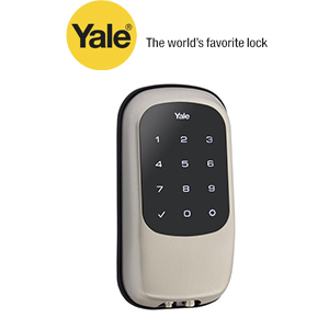 YRD120ZW619 Yale 84390 Touchscreen Z-Wave- Key Free Deadbolt Satin Nickel