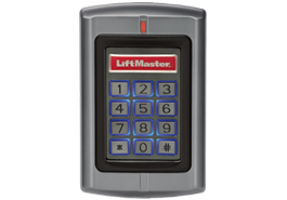 KPR2000 SENTEX LIFTMASTER KEYPAD Keypad and Prox card reader in one. Zinc alloy enclosure Stand-alone or Weigand Pass-through. 2000 Users, backlit, 12-24VDC, 125kHz IP68 weatherization