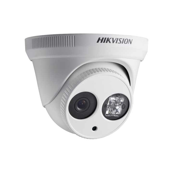 DS-2CD2342WD-I4MM HIKVISION Turret Dome, 4MP-20fps/1080p, H264, 4mm, Day/Night, 120dB WDR, EXIR (30m), IP66, PoE/12VDC