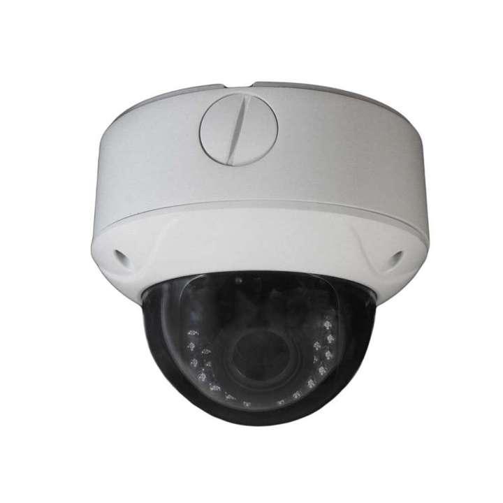 "AV56HTWA-2812 FOCAL POINT HD-TVI 1080p,1/2.7"" CMOS, SMART IR LEDs, 40m IR, Outdoor IR Vari-focal Dome, ICR, 0.1 Lux/F1.2, 12 VDC, Smart IR, DNR, OSD Menu(Up the Coax), Vandal Proof, 2.8~12mm Lens, DC12V/AC24V."