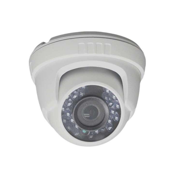 "AV50HTW-28 FOCAL POINT HD-TVI 1080p,1/2.7"" CMOS, 24 pcs LEDs, 20m IR, Outdoor IR Turret, ICR, 0.1 Lux/F1.2, 12 VDC, Smart IR, DNR, OSD Menu(Up the Coax), IP66, 2.8mm Lens, DC12V."