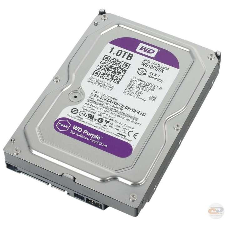 WD10PURX HDSTOR WESTERN DIGITAL 1TB AV GRADE HDD PURPLE