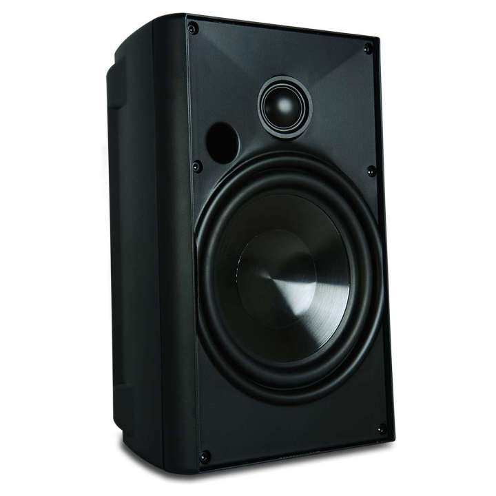 "AW525BLK PROFICIENT 5 1/4"" 2-WAY IN/OUTDOOR SPEAKERS 1 PAIR BLACK ************************* SPECIAL ORDER ITEM NO RETURNS OR SUBJECT TO RESTOCK FEE *************************"