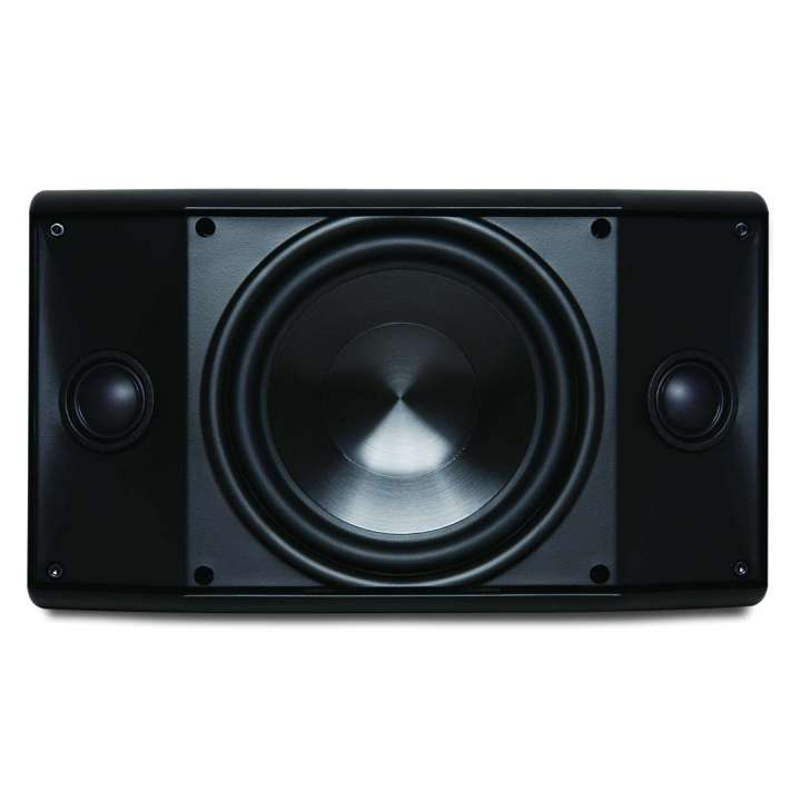 "AW500TTBLK PROFICIENT ONE BLK IN/OUTDOOR SPK 5 1/4"" DUAL VOICE COIL, TWO 1"" PVT TWEETERS 100 WATT ************************* SPECIAL ORDER ITEM NO RETURNS OR SUBJECT TO RESTOCK FEE *************************"