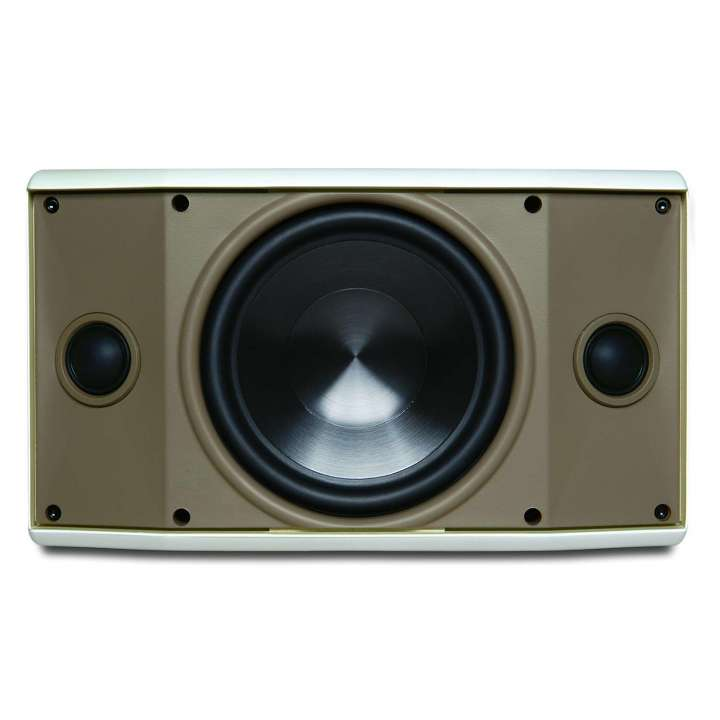 """AW600TTWHT PROFICIENT 6 1/2"""" 2-WAY INDOOR/OUTDOOR SINGLE POINT STEREO SPEAKER 125W ************************* SPECIAL ORDER ITEM NO RETURNS OR SUBJECT TO RESTOCK FEE *************************"""