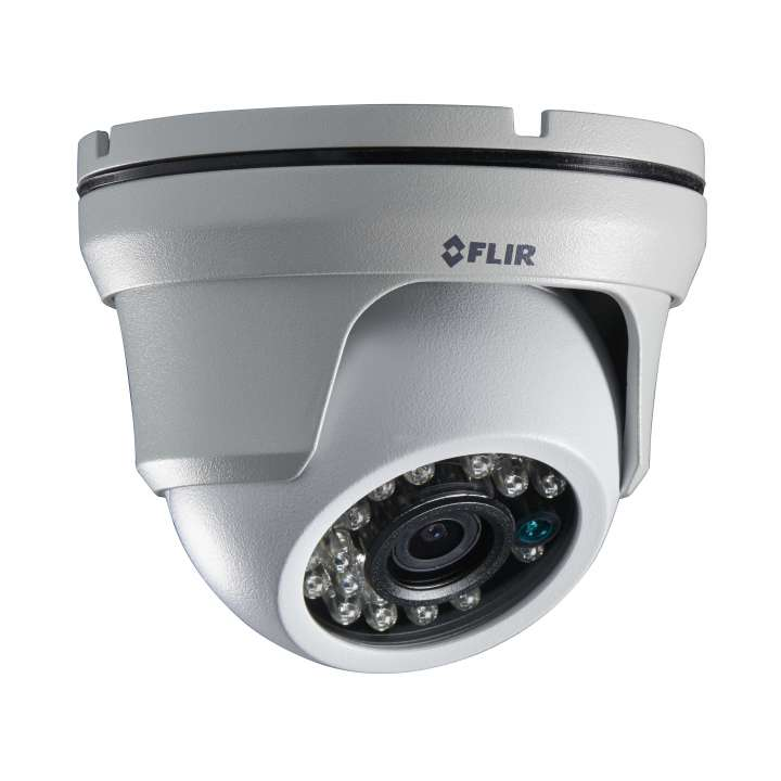C233EC FLIR MPX Mini Eyeball Dome, 1.3MP/960H Dual Output, WDR, OSD, 3.6mm, IR LED's, 12V