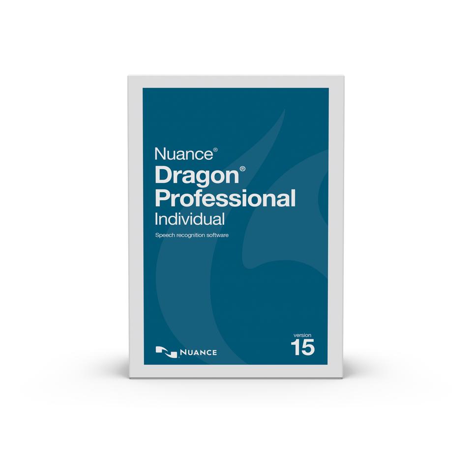NUA-K809A-F00-15.0 DRAGON PROFESSIONAL INDIVIDUAL 15, US ENGLISH, ACADEMIC