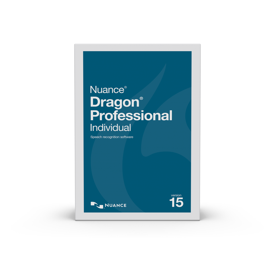 NUA-K889A-RD7-15.0 Dragon Professional Individual 15, US English, Upgrade from Professional 13 or DPI 14