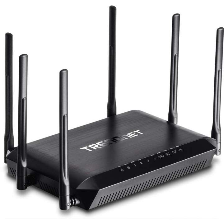 TEW-828DRU TRENDNET AC3200 TRI BAND WIRELESS ROUTER