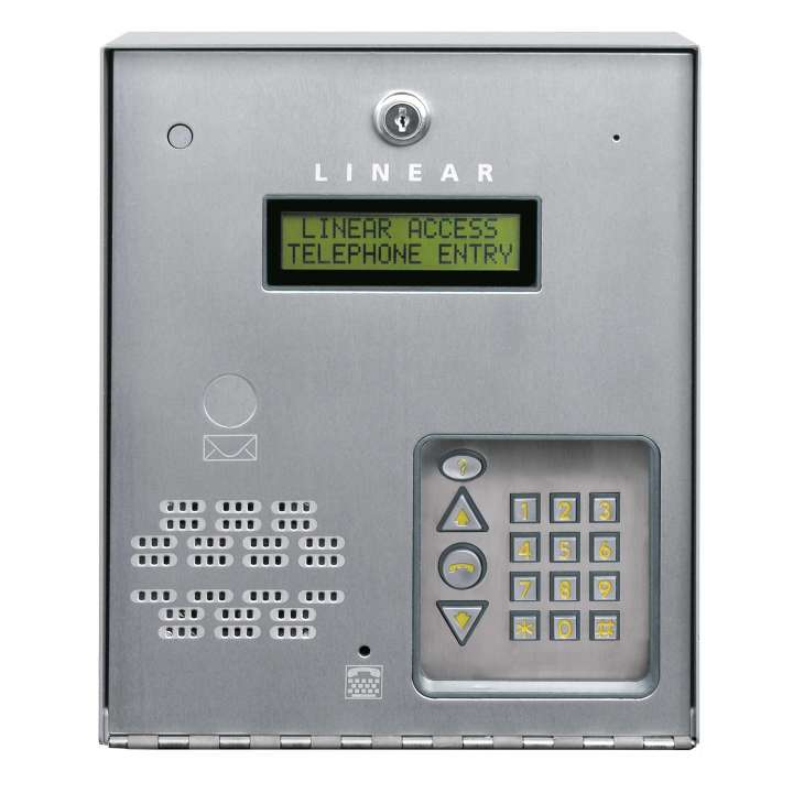 AE-100 LINEAR TELEPHONE ENTRY SYSTEM UP TO 125 USER 2X16 LCD DISPLAY