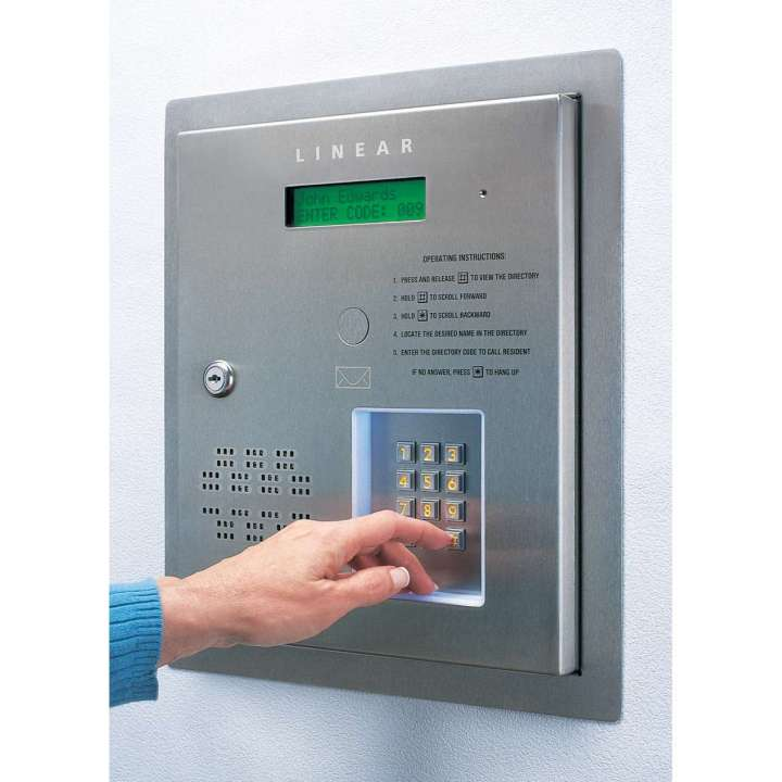 AE-500 LINEAR TELEPHONE ENTRY SYSTEM FOR 1 OR 2 DOOR GATES