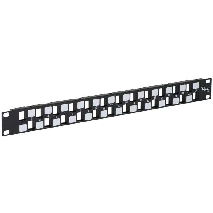 IC107BE241 ICC 24-PORT EZ BLANK PATCH PANEL