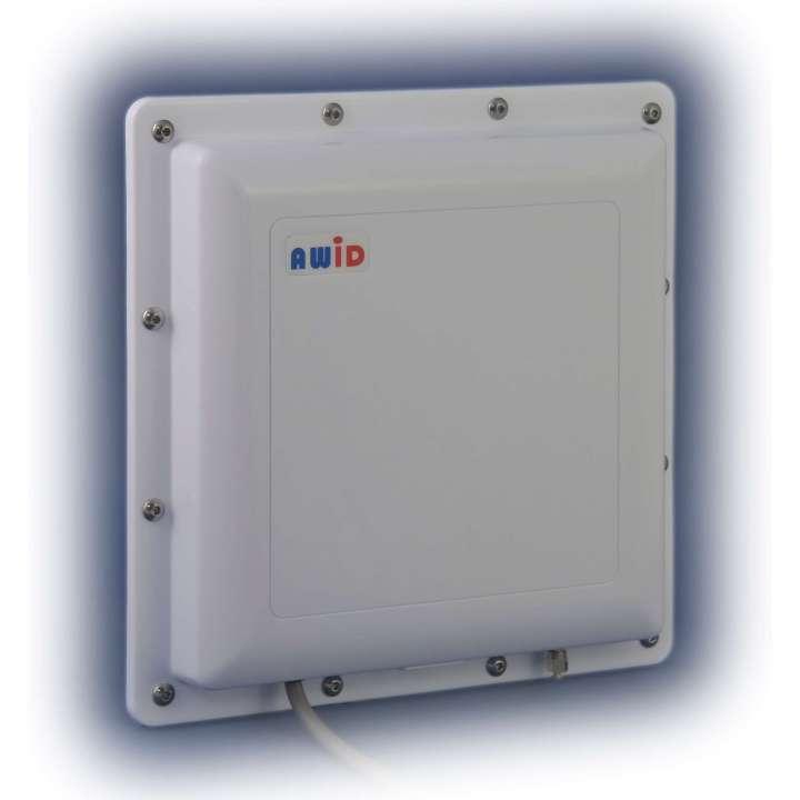 LR-3000-B-U AWID LR-3000 White, AWID Logo, Long Range Reader, ruggedized for outdoor use