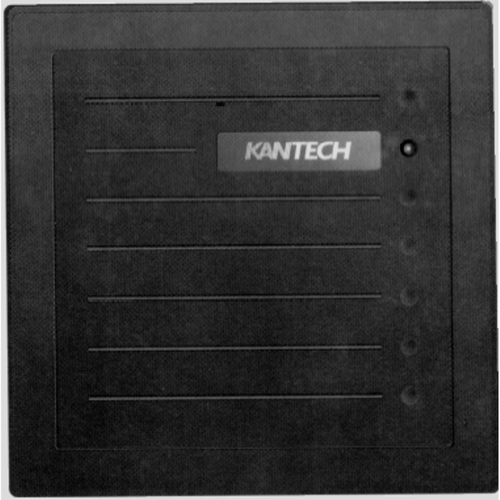 HID-PR5355 KANTECH HID PROXPRO READER, KSF/ 26-BIT WIEGAND, UP TO 20.3 CM (8 IN) READ RANGE, GRAY
