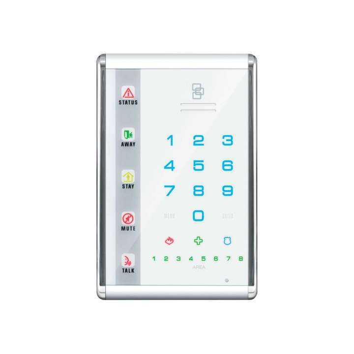 NX-1811E UTC NETWORX ADVANCED TOUCH LED KEYPAD PORTRAIT WHITE