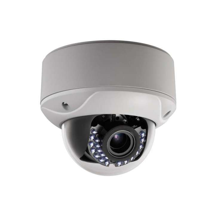 "AV56HTWA-2812WZ FOCAL POINT HD-TVI 1080p,1/2.7"" CMOS, SMART IR LEDs, 40m IR, Outdoor IR Vari-focal Dome, ICR, 0.1 Lux/F1.2, 12 VDC, Smart IR, DNR, OSD Menu(Up the Coax), Vandal Proof, 2.8~12mm Motorized Lens, True WDR, DC12V/AC24V. ************************** CLEARANCE ITEM- NO RETURNS *****ALL SALES FINAL******* **************************"