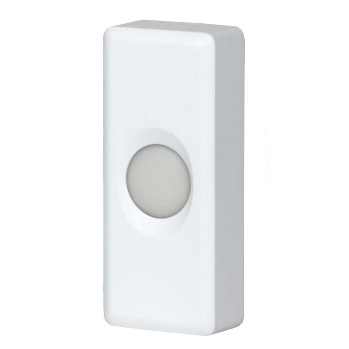 2GIG-GCDBCC1 2GIG GoControl Wired Door Chime, White ************************** CLEARANCE ITEM- NO RETURNS *****ALL SALES FINAL****** **************************