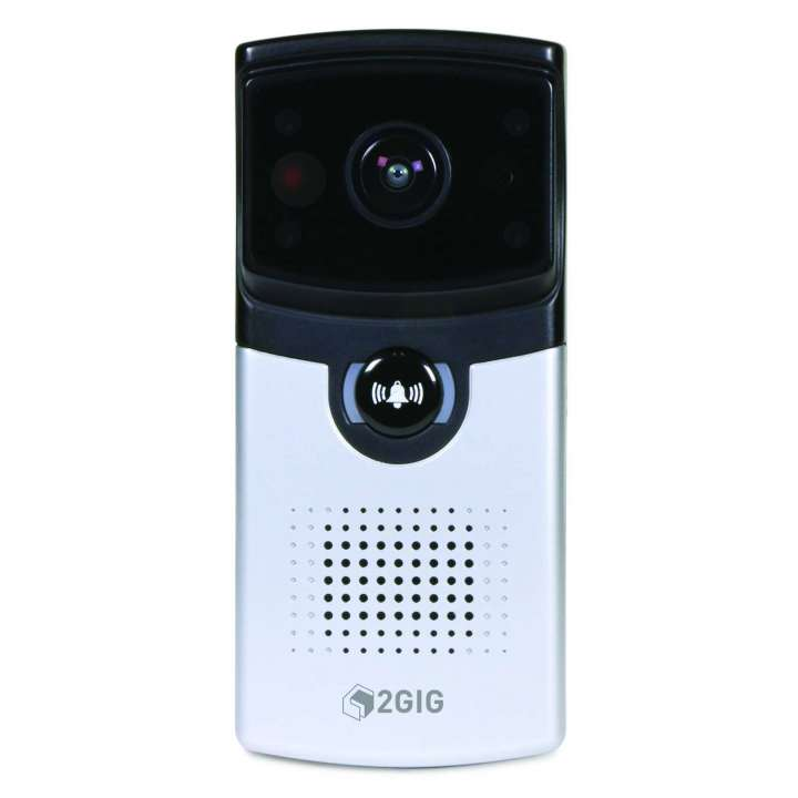2GIG-GCDBC1 2GIG GoControl Smart Doorbell Camera, 720p, Two-way Audio, WiFi ************************** CLEARANCE ITEM- NO RETURNS *****ALL SALES FINAL******* **************************