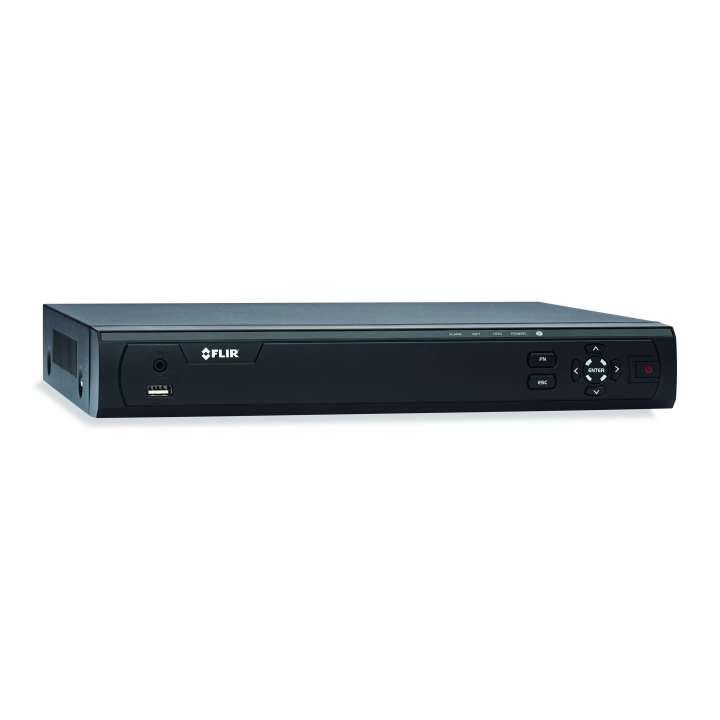M3108E1 FLIR MPX HD recorder 8ch, 720p 30fps, 1080p 15fps, 960H 30fps, 1TB FLIR cloud VMS