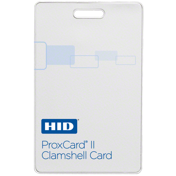 1326LMSMV HID PROXCARD II, Programmed, Low Frequency (125 kHz).Plain White Vinyl with Matte Finish,Base with Molded HID Logo, Sequential Matching Internal/External (Inkjetted, Vertical Slot Punch