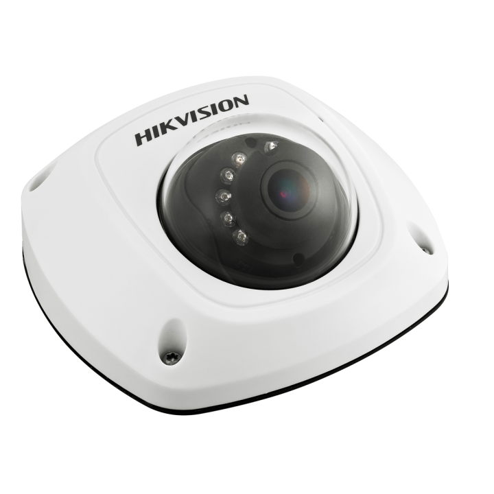 DS-2CD2542FWD-IS2.8MM HIK VISION Compact Dome, 4MP-20fps/1080p, H264, 2.8mm, Day/Night, 120dB WDR, IR (30m), 3-Axis, Alarm I/o, Audio Mic/O, uSD, IP66, PoE/12VDC