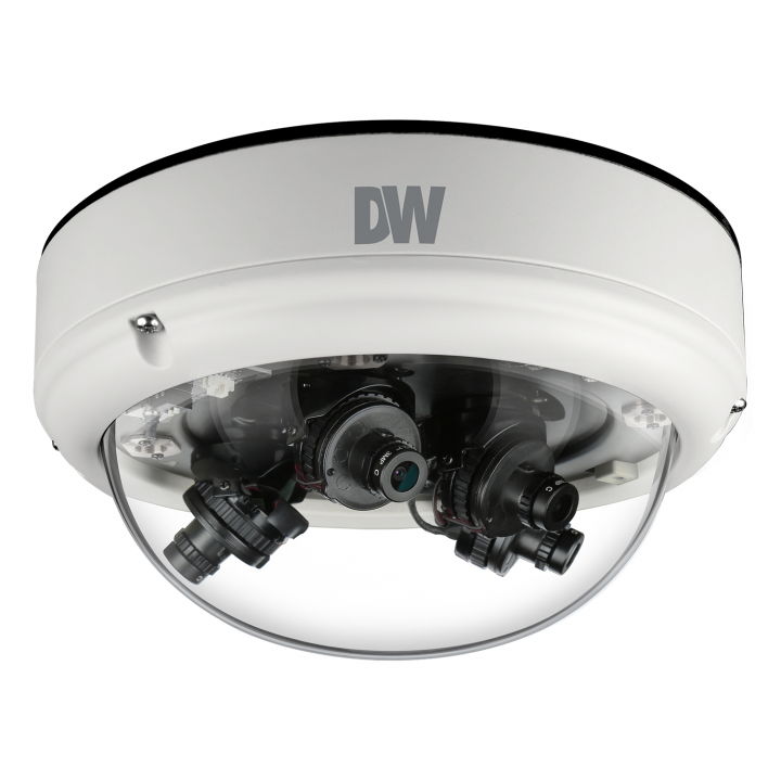 "DWC-VS753WT2222 DIGITAL WATCHDOG ""First Ever"" Star-Light AHD Flex (4 Cameras in 1) Vandal Dome, Analog High Definition over Coax, 4x2.1MP CMOS Sensor, 4x2.8mm Fixed Lenses, Flexible Sensor Positioning with Magnets, Wide Dynamic Range (WDR), True Day/Night with IR Cut Filter, Smart 3D-DNR, UTC(Up the Coax) Programming, Exclusive De-Fog Compensation, HME, BLC, AWB, Dual Voltage, IP66, 5 Year Warranty. ( Available in several different lens options ************************* SPECIAL ORDER ITEM NO RETURNS OR SUBJECT TO RESTOCK FEE *************************"