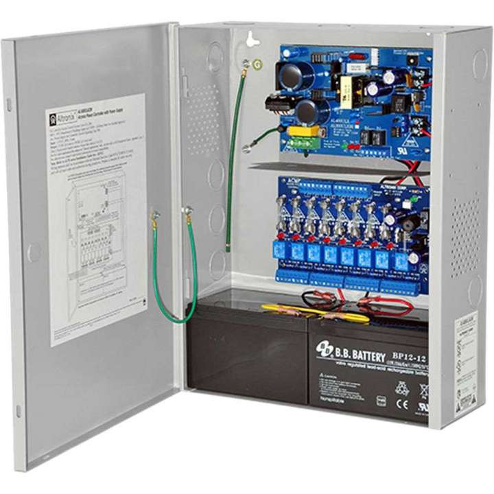 AL400ULACM ALTRONIX ACCESS PWR SUPPLY 12/24VDC 4A-8 FUSED OUTPUTS (ACM8 INSTALLED)-INCLUDES FIRE ALARM INTERFACE RELAY