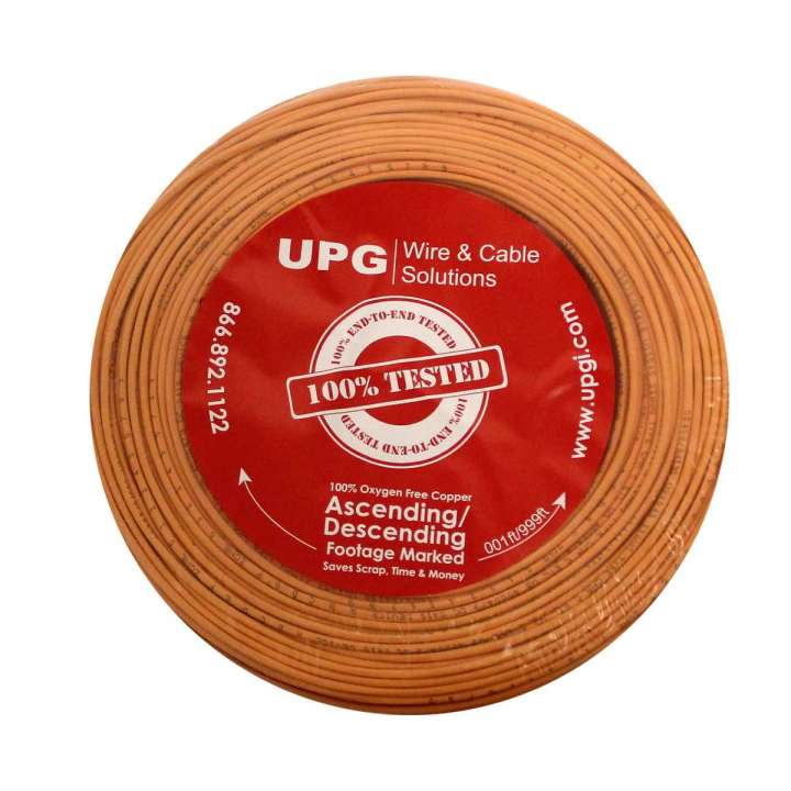 U2204S-3C5 UPG 22/4 conductor solid jacket UL NEC 800 or ETL listed Type CM or CL2, Orange Jacket, 500' COIL PACK ************************* SPECIAL ORDER ITEM NO RETURNS OR SUBJECT TO RESTOCK FEE *************************
