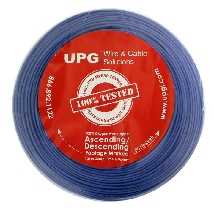 "U2202-6C5 UPG 22/2 conductor (7/30) Jacketed ""UL NEC 800 or ETL listed"" Type CM or CL2, Blue Jacket, 500' COIL PACK ************************* SPECIAL ORDER ITEM NO RETURNS OR SUBJECT TO RESTOCK FEE *************************"