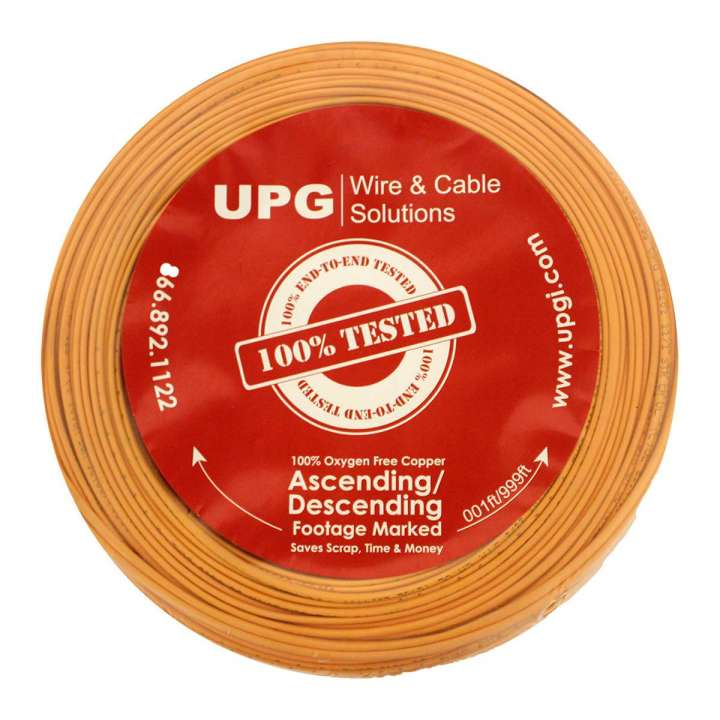 "U2202-3C5 UPG 22/2 conductor (7/30) Jacketed ""UL NEC 800 or ETL listed"" Type CM or CL2, Orange Jacket, 500' COIL PACK ************************* SPECIAL ORDER ITEM NO RETURNS OR SUBJECT TO RESTOCK FEE *************************"
