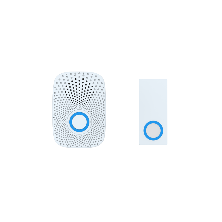 ZW056-US AEON DOORBELL GEN5 With an inbuilt siren configurable up to 80db, LED lights and backup battery, this is the perfect Z-Wave Siren. Also configurable as doorbell with optional addon wireless, push button. Batteries not included.