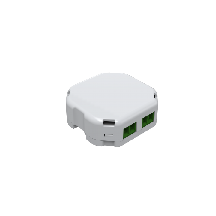 DSC27103 AEON MICRO DIMMER 2E Dimmable lights enabling Z-Wave command and control on / off and dimming for existing in-wall dimmers. Compatible with most types of dimmable lights for easy plug in and install