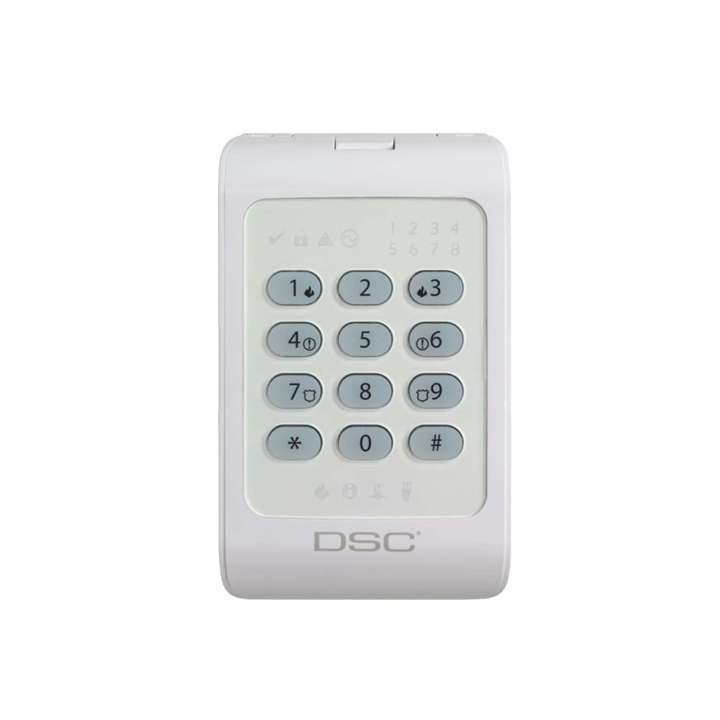 DSCPC1404RKZ DSC PC1404RKZ Yellow backlight keypad with multi language installation sheet. ************************* SPECIAL ORDER ITEM NO RETURNS OR SUBJECT TO RESTOCK FEE *************************